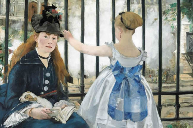 Edouard Manet's The Railway.